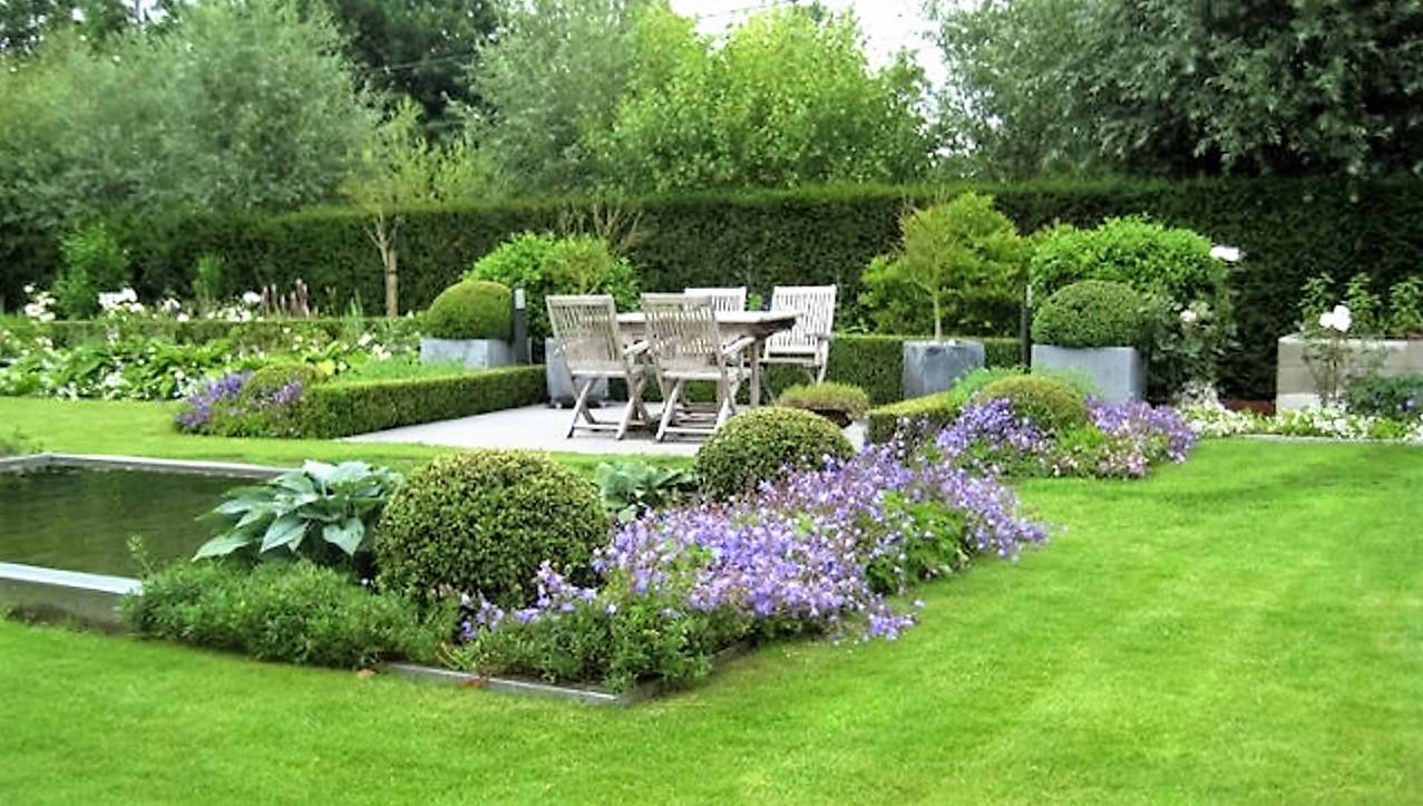 Voor iedere tuin een ander ontwerp.